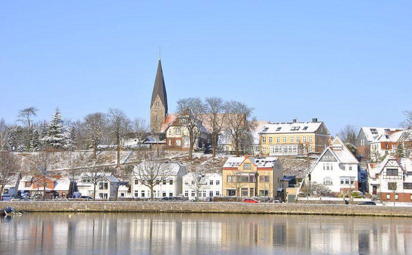 Eckernförde im Winter 2017